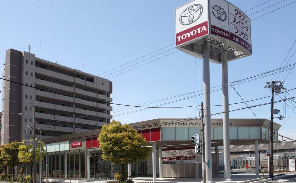 大阪トヨタ自動車(株)十三店 新築工事